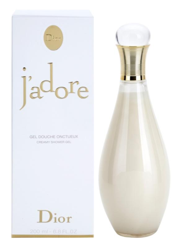 Dior J'adore sprchový gel pro ženy 200 ml
