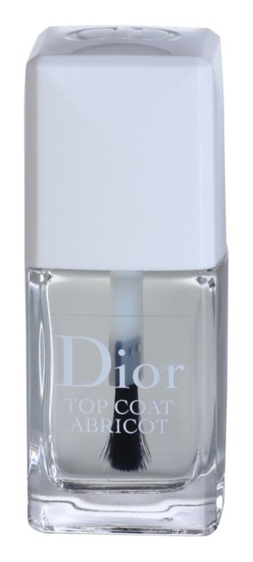 Dior Top Coat Abricot rychleschnoucí vrchní lak na nehty