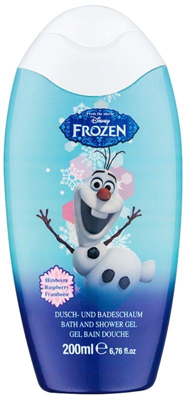 Disney Cosmetics Frozen piana do kąpieli i żel pod prysznic 2w1