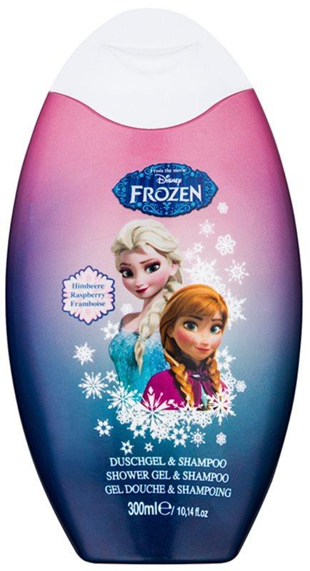 Disney Cosmetics Frozen gel de ducha y champú 2en1