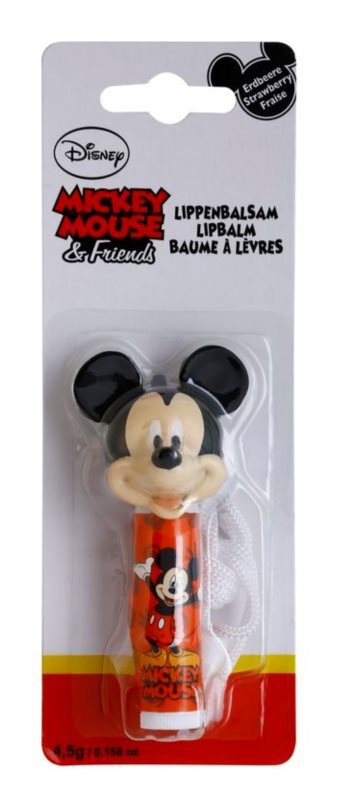 Disney Cosmetics Mickey Mouse & Friends Lip Balm With Fruit Flavor