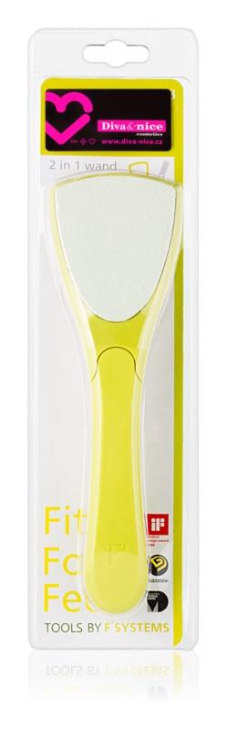 Diva & Nice Cosmetics Accessories keramická pemza na chodidlá