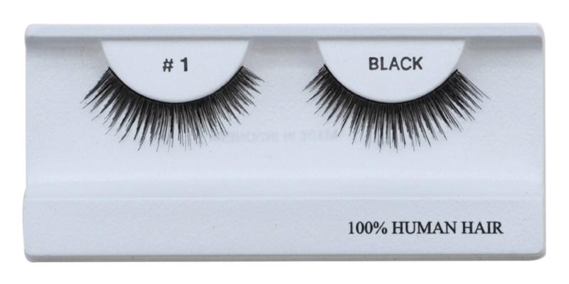 Diva & Nice Cosmetics Accessories штучні вії з натурального волосся