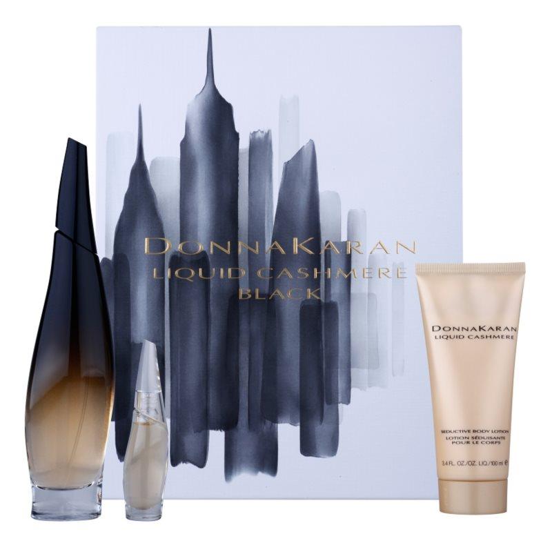 DKNY Liquid Cashmere Black darčeková sada I.