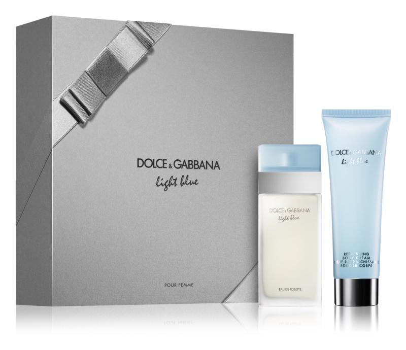 Dolce & Gabbana Light Blue dárková sada XI.