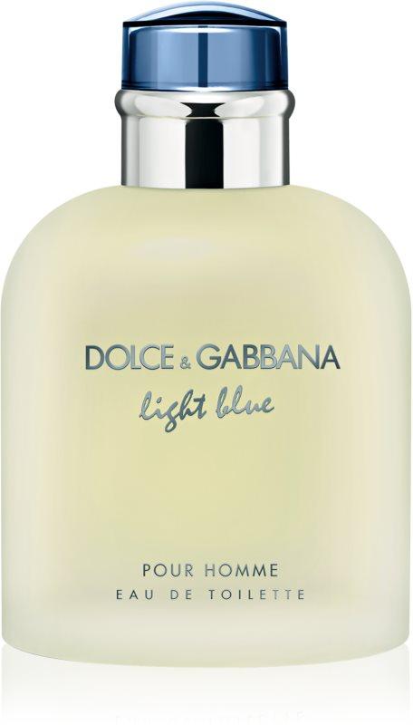 Dolce & Gabbana Light Blue Pour Homme Eau de Toilette voor Mannen 125 ml