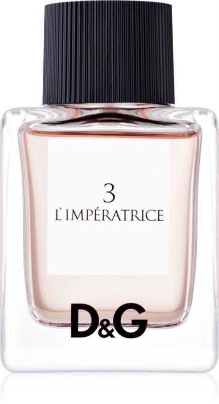 Dolce & Gabbana D&G Anthology L'Imperatrice 3 Eau de Toilette voor Vrouwen  50 ml