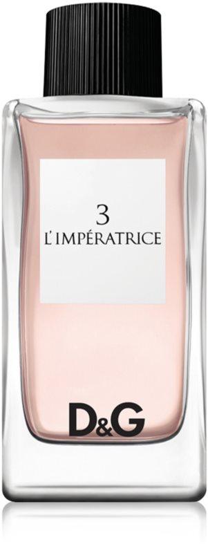 Dolce & Gabbana 3 L'Imperatrice eau de toilette per donna 100 ml