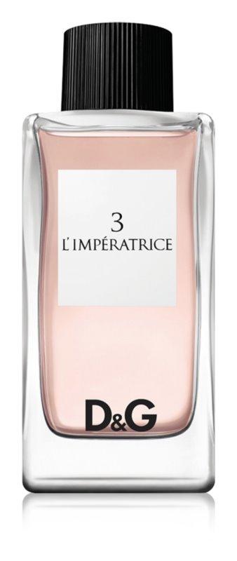 Dolce & Gabbana 3 L'Imperatrice Eau de Toilette voor Vrouwen  100 ml