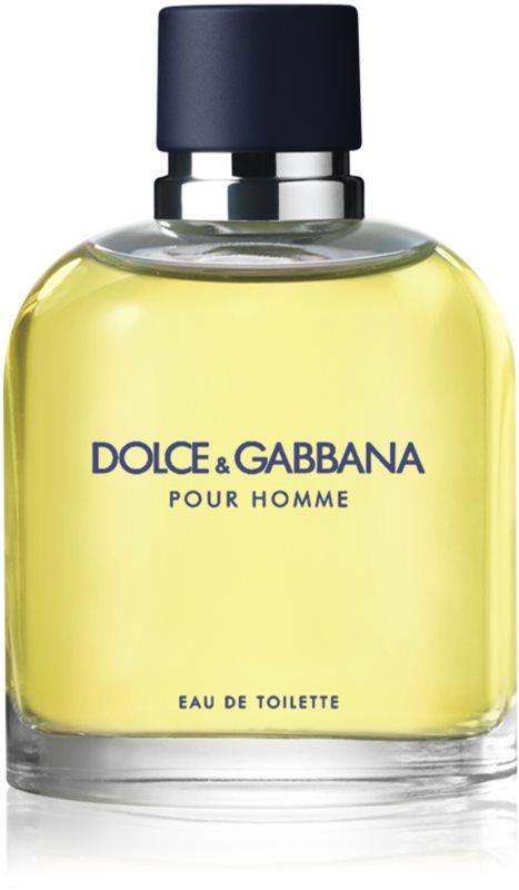 Dolce & Gabbana Pour Homme Eau de Toilette voor Mannen 125 ml