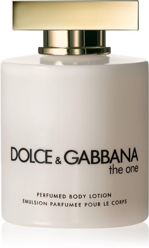 Dolce & Gabbana The One testápoló tej nőknek 200 ml