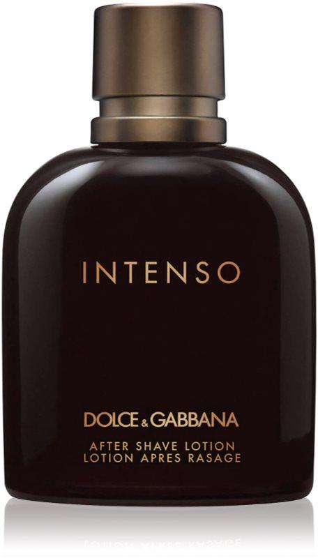 Dolce & Gabbana Intenso lotion après-rasage pour homme 125 ml