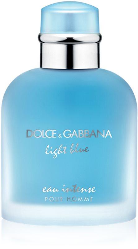 Dolce & Gabbana Light Blue Pour Homme Eau Intense Eau de Parfum for Men 100 ml