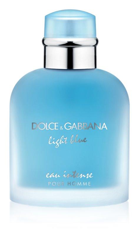 dolce gabbana light blue pour homme eau intense eau de. Black Bedroom Furniture Sets. Home Design Ideas