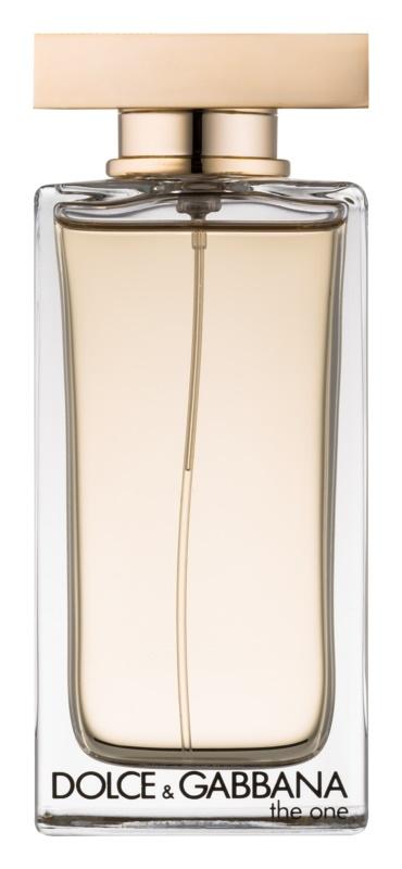 Dolce & Gabbana The One Eau de Toilette eau de toilette pour femme 100 ml