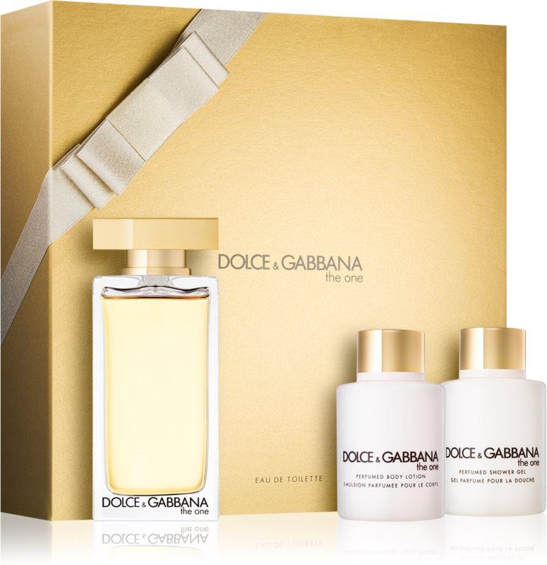 Dolce & Gabbana The One Eau de Toilette σετ δώρου