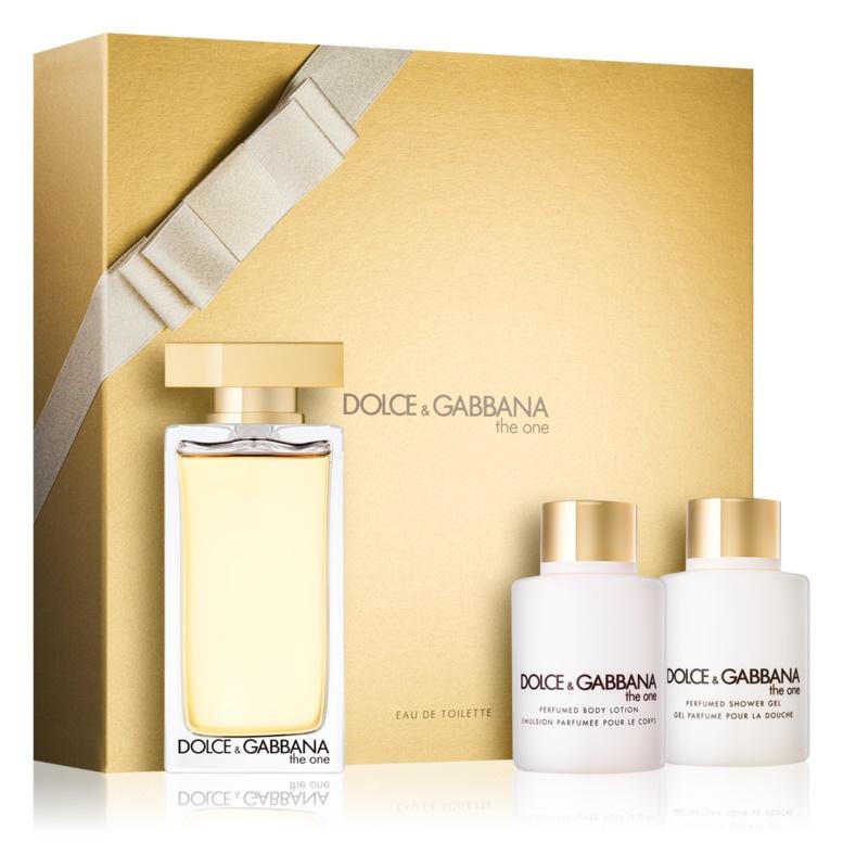 Dolce & Gabbana The One zestaw upominkowy