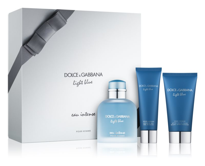 Dolce & Gabbana Light Blue Eau Intense Pour Homme Gift Set I.