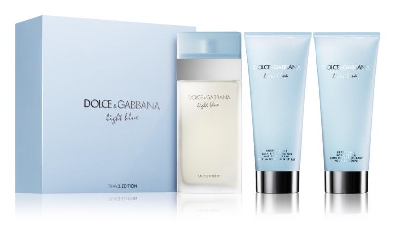 Dolce & Gabbana Light Blue coffret cadeau XII.