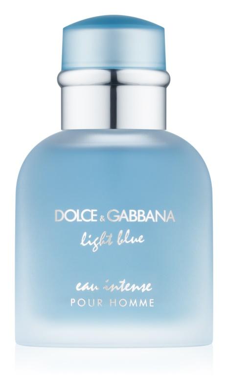 Dolce & Gabbana Light Blue Eau Intense Pour Homme woda perfumowana dla mężczyzn 50 ml