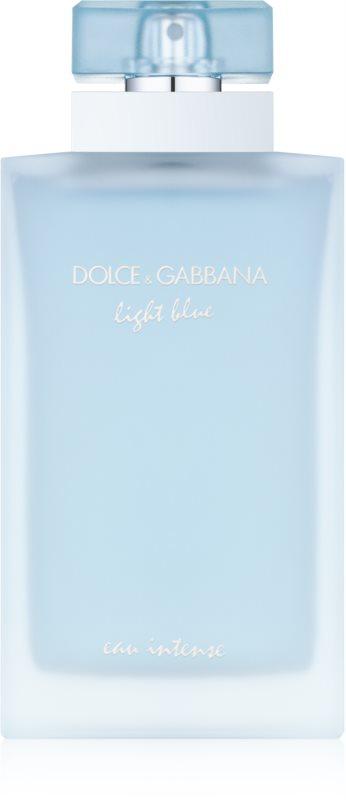 Dolce & Gabbana Light Blue Eau Intense eau de parfum pour femme 100 ml