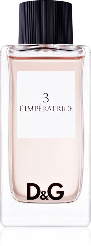 Dolce & Gabbana D&G Anthology L'Imperatrice 3 Eau de Toilette voor Vrouwen  100 ml