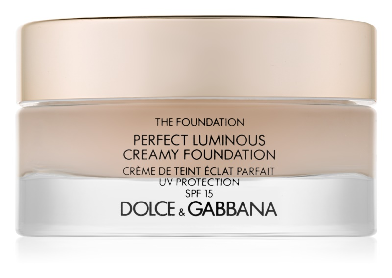 Dolce & Gabbana The Foundation Perfect Luminous Creamy Foundation base cremosa iluminadora SPF 15