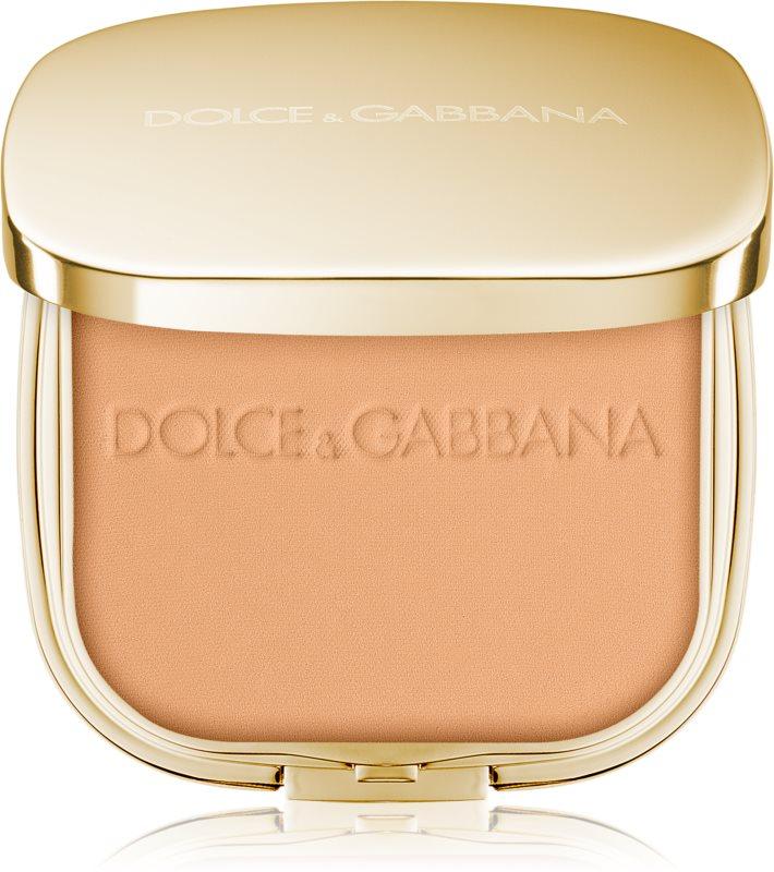 Dolce & Gabbana The Powder kompaktný púder so štetčekom