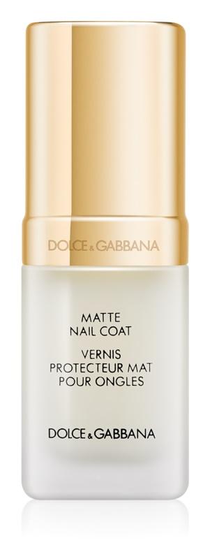 Dolce & Gabbana The Top Lacquer vrchný gélový lak pre matný vzhľad