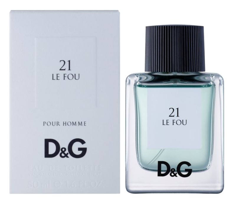 Dolce & Gabbana D&G Anthology Le Fou 21 Eau de Toilette for Men 50 ml