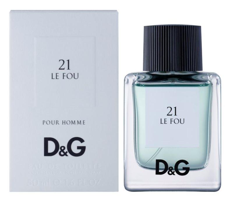 Dolce & Gabbana D&G Anthology Le Fou 21 woda toaletowa dla mężczyzn 50 ml