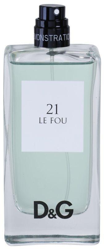 Dolce & Gabbana 3 L'Imperatrice Le Fou 21 woda toaletowa tester dla mężczyzn 100 ml