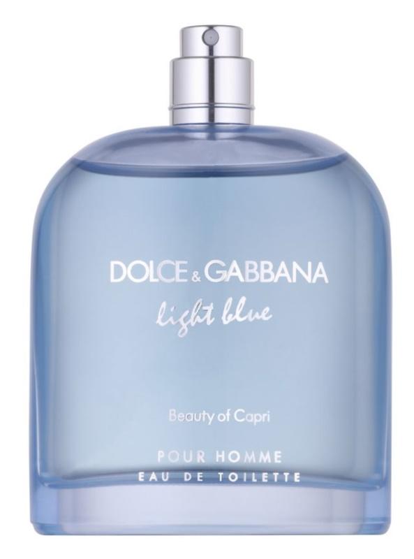 Dolce & Gabbana Light Blue Beauty of Capri eau de toilette teszter férfiaknak 125 ml