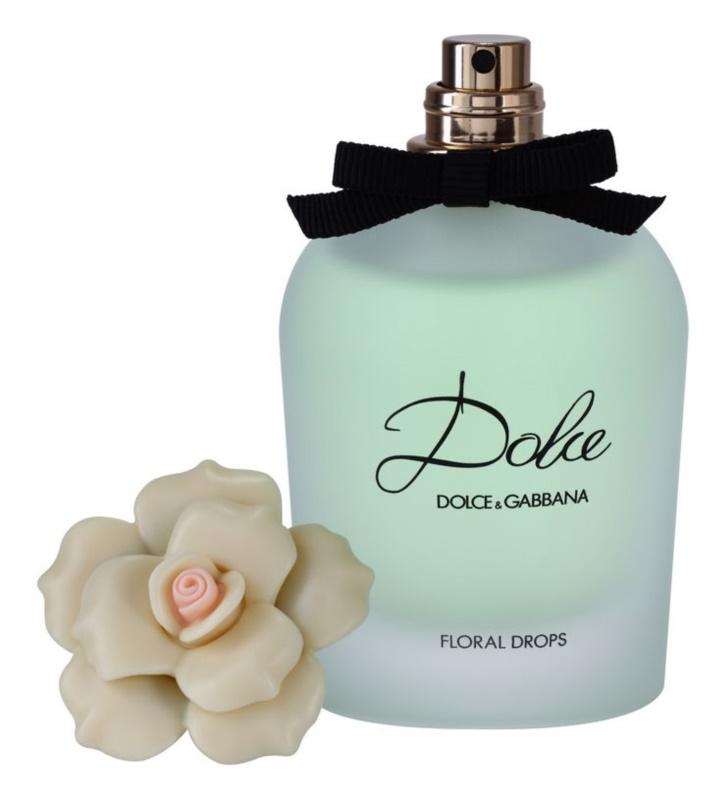 Dolce & Gabbana Dolce Floral Drops eau de toilette teszter nőknek 75 ml