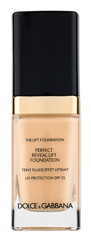 Dolce & Gabbana The Foundation The Lift Foundation Fond de ten cu efect de lifting SPF 25