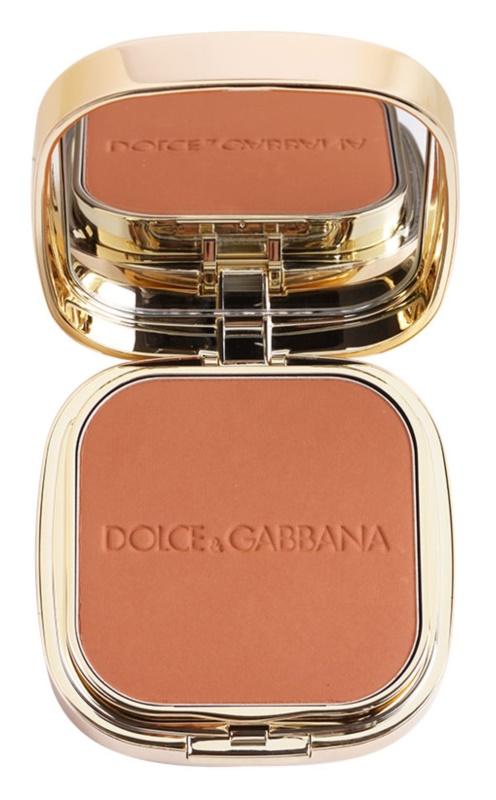 e00c88c83b665 Dolce   Gabbana The Foundation Perfect Matte Powder Foundation fond de teint  poudré matifiant avec miroir