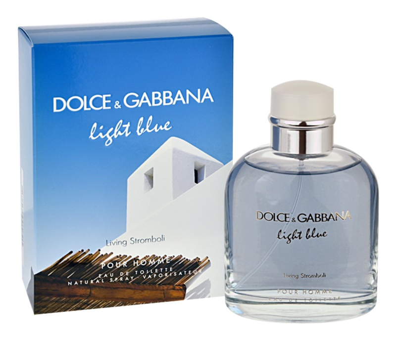Dolce & Gabbana Light Blue Pour Homme Living Stromboli Eau de Toilette für Herren 125 ml