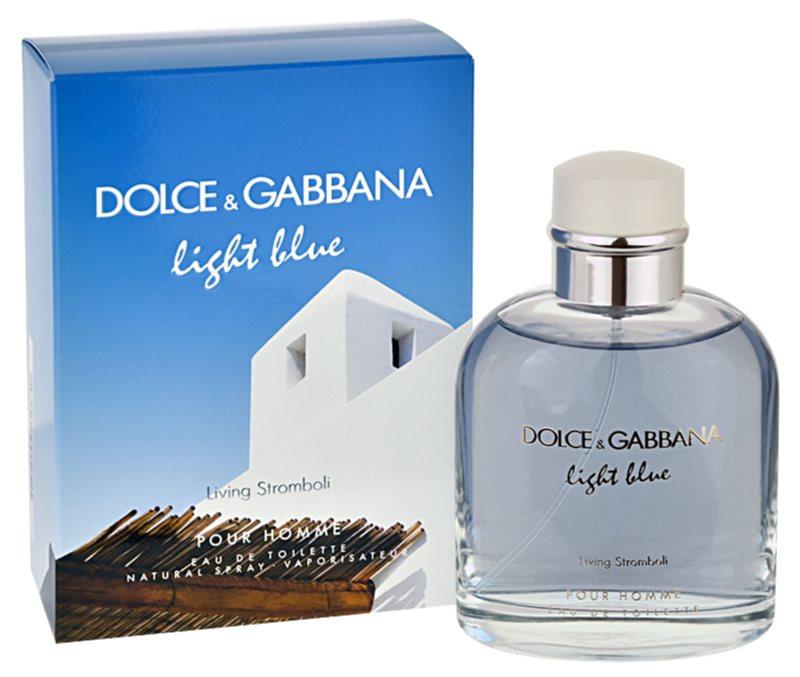 Dolce & Gabbana Light Blue Pour Homme Living Stromboli toaletní voda pro muže 125 ml