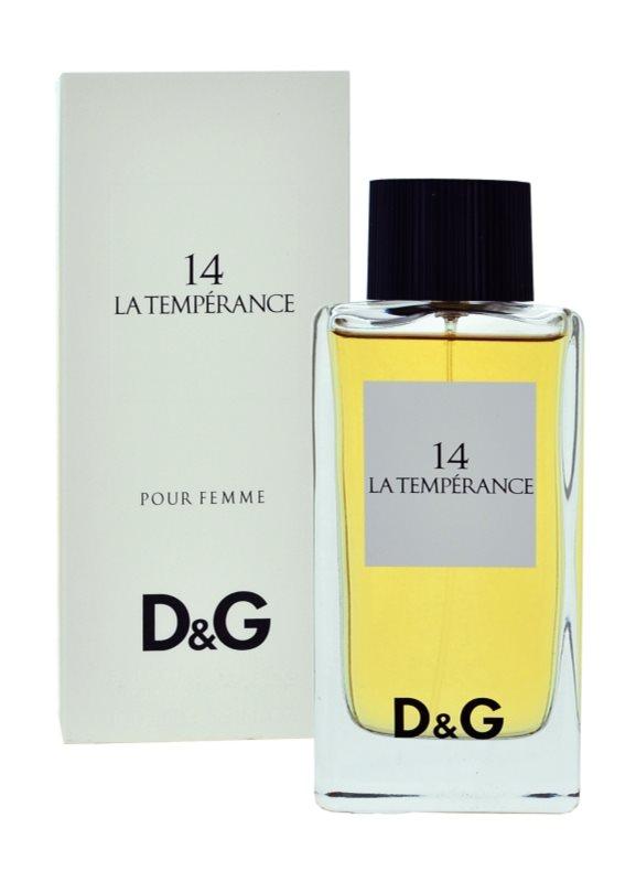 Dolce & Gabbana D&G Anthology La Temperance 14 Eau de Toilette voor Vrouwen  100 ml