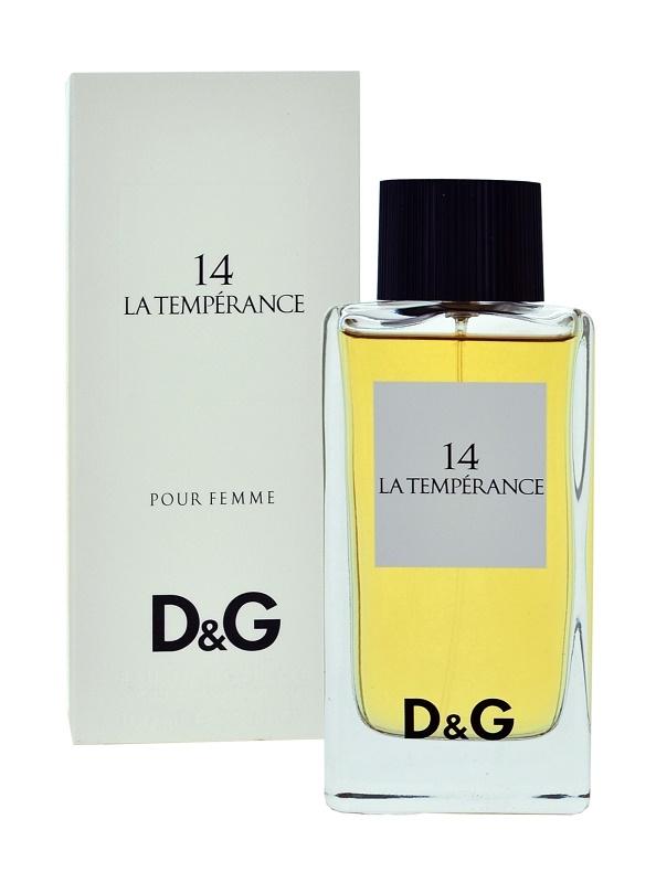 Dolce & Gabbana D&G Anthology La Temperance 14 toaletná voda pre ženy 100 ml