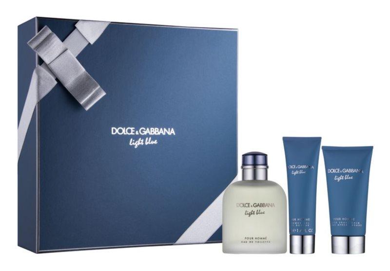 Dolce & Gabbana Light Blue Pour Homme подарунковий набір І