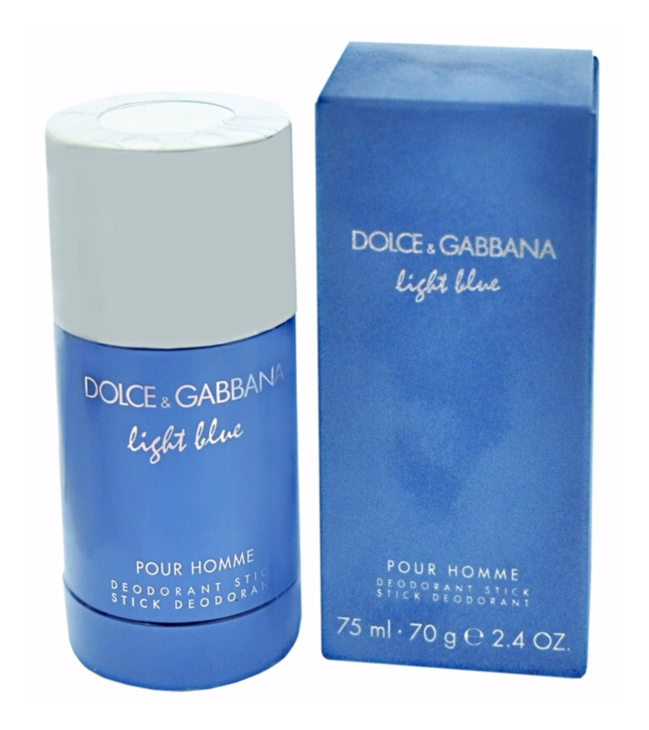 Dolce & Gabbana Light Blue Pour Homme Deodorant Stick for Men 70 g