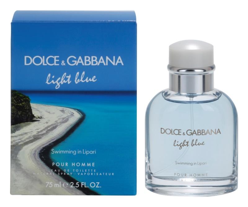 Dolce & Gabbana Light Blue Swimming in Lipari eau de toilette pour homme 75 ml
