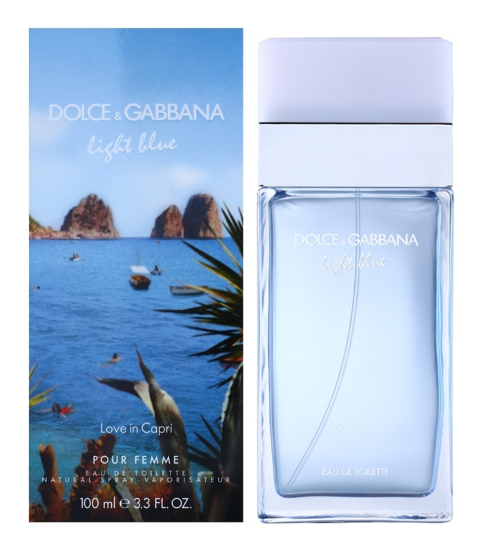 Dolce & Gabbana Light Blue Love in Capri eau de toilette pentru femei 100 ml
