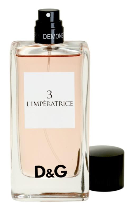 Dolce & Gabbana D&G Anthology L'Imperatrice 3 eau de toilette teszter nőknek 100 ml