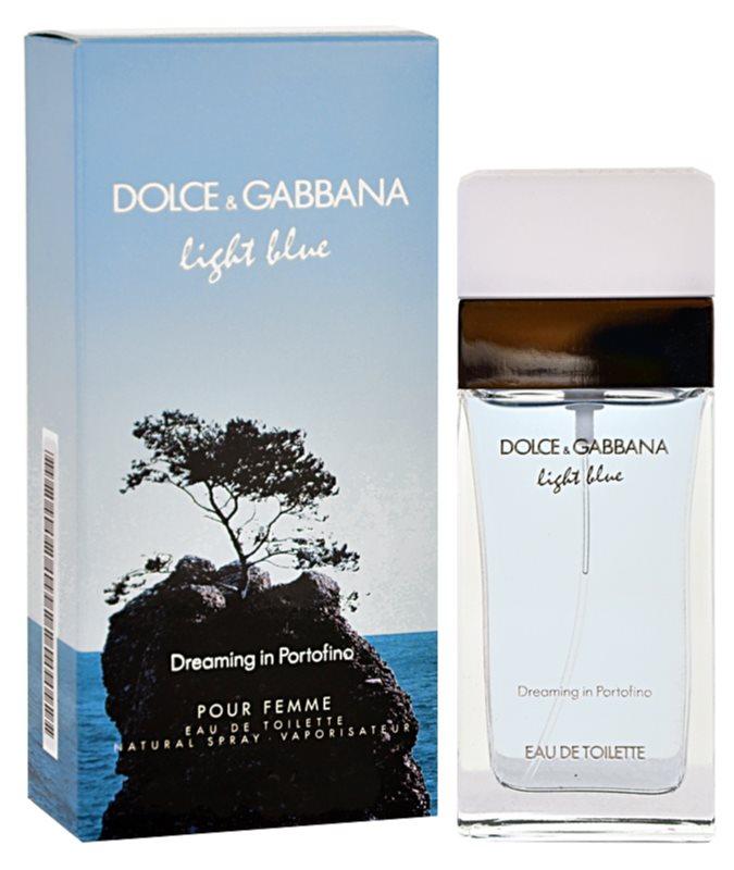 Dolce & Gabbana Light Blue Dreaming in Portofino eau de toilette pour femme 50 ml