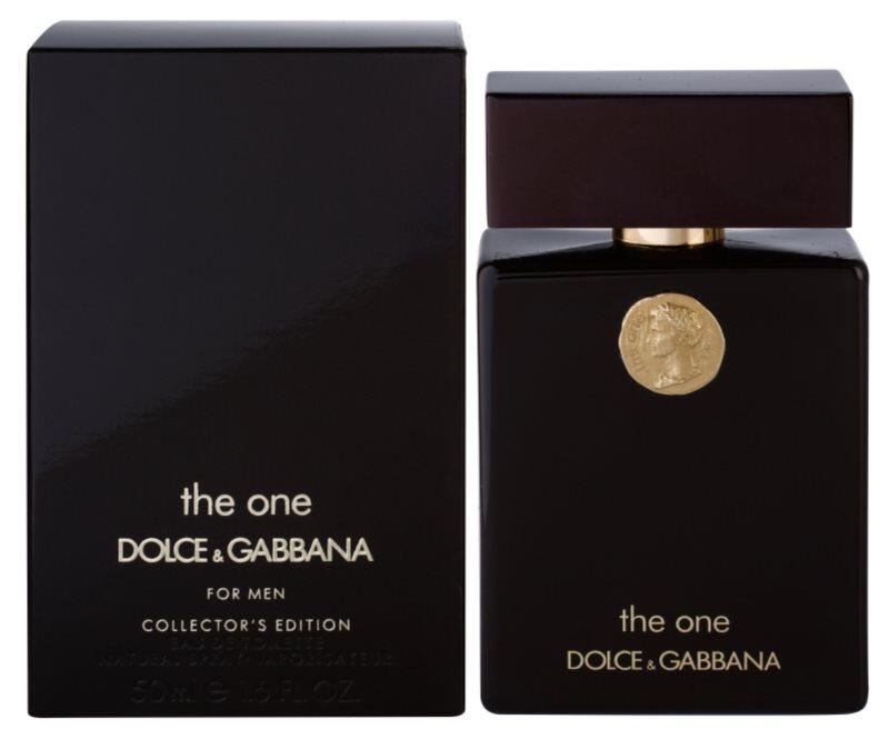 Dolce & Gabbana The One Collector's Edition Eau de Toilette voor Mannen 50 ml