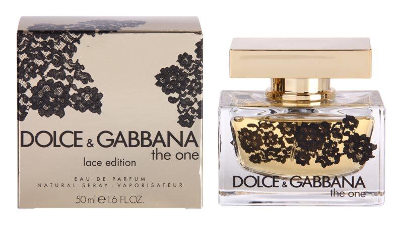Dolce & Gabbana The One Lace Edition парфумована вода для жінок 50 мл