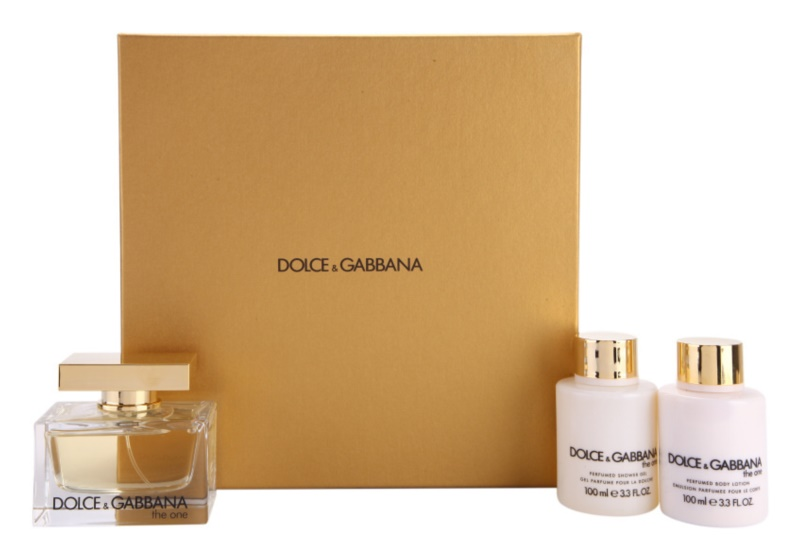 Dolce & Gabbana The One coffret cadeau I.