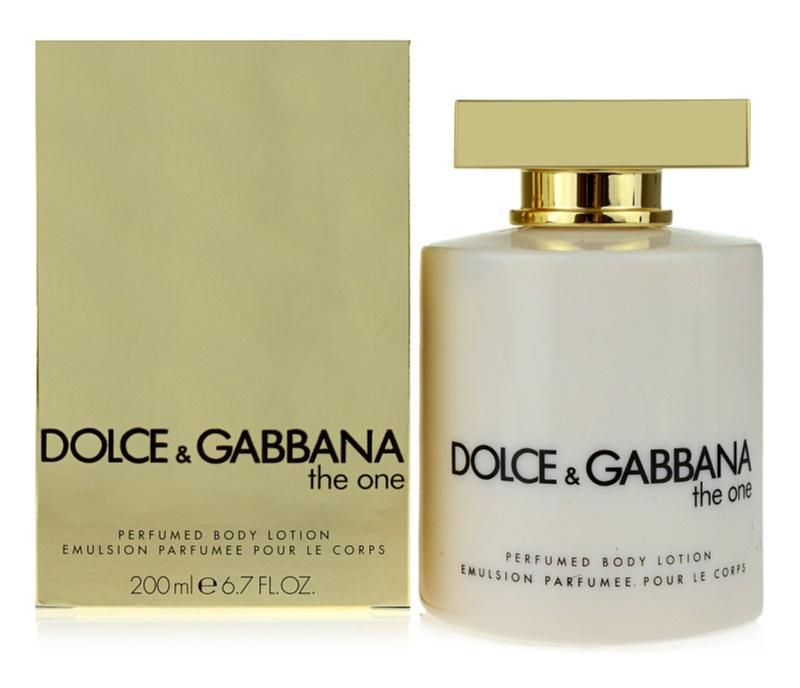 Dolce & Gabbana The One tělové mléko pro ženy 200 ml